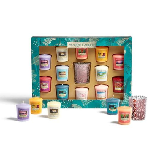 Yankee Candle confezione regalo 12 candele sampler