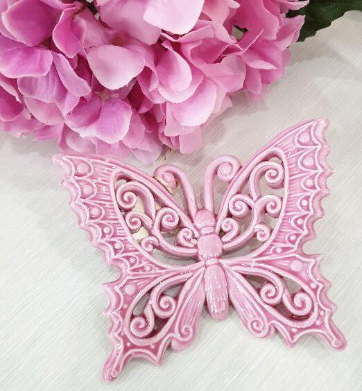 ceramica pugliese farfalla