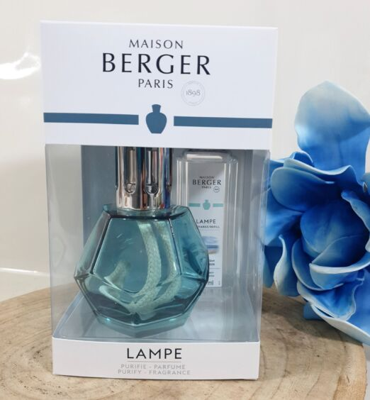 Lampe berger cofanetto GEOMETRY Blue