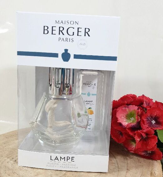 Lampe Berger cofanetto GEOMETRY trasparente