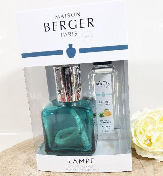 cofanetto lampe berger bottiglia verde