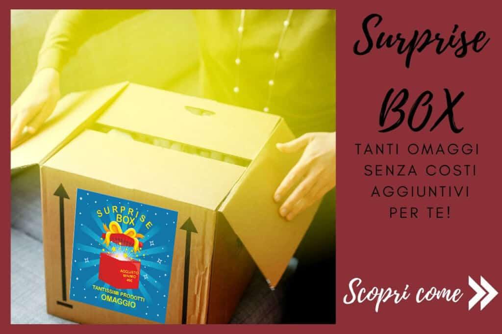 box a sorpresa con acquisti sindy arredo