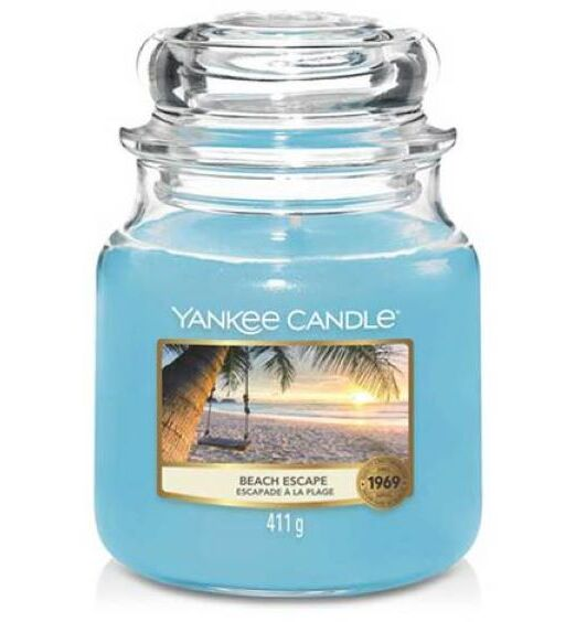 beach escape media yankee candle