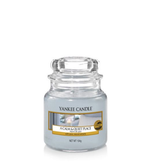 Yankee Candle giara piccola a calm e quiet place