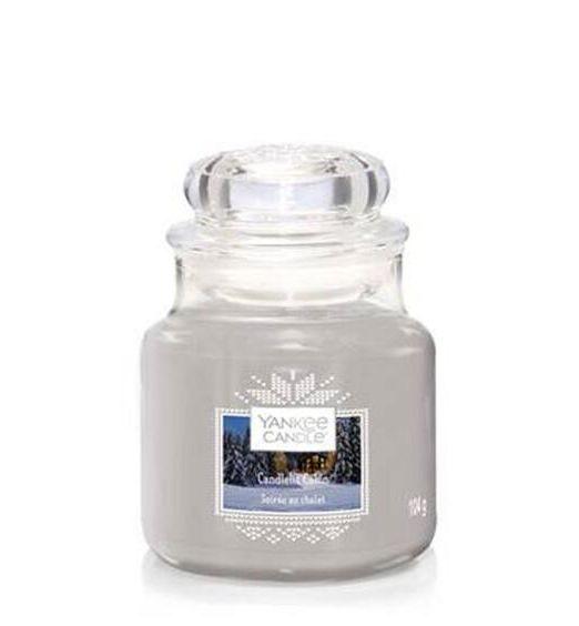 Yankee Candle giara piccola candlelit cabin