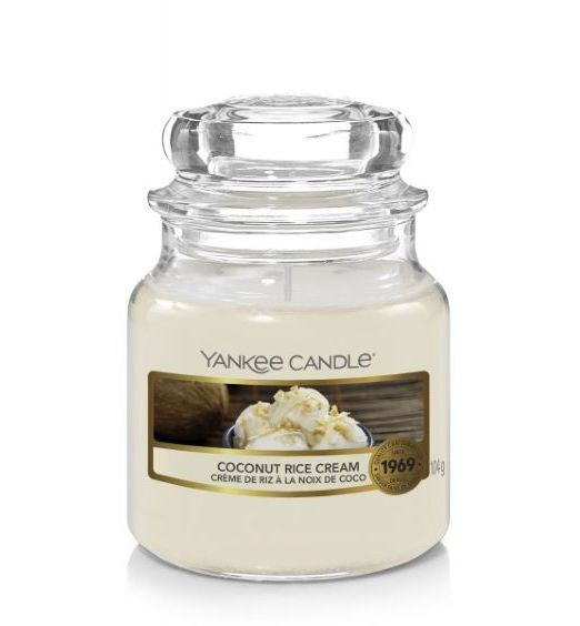 Yankee Candle giara piccola coconut rice cream