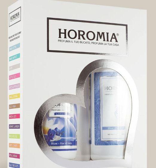 Horomia confezione regalo horotwins blue fior di loto