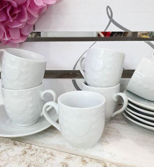 tazzine per caffè con piattino