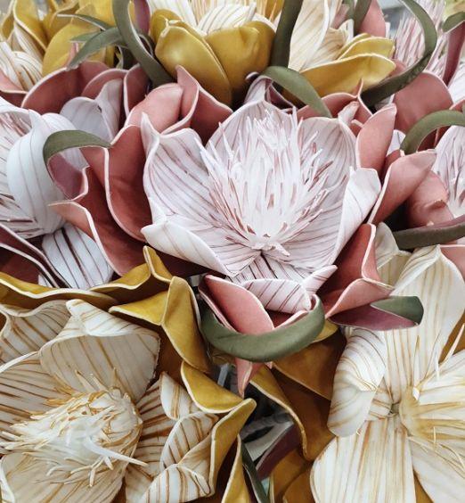 Magnolia fiori finti artificiali