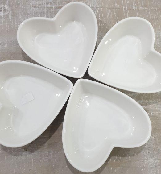 antipastiere e coppe da aperitivo cuore