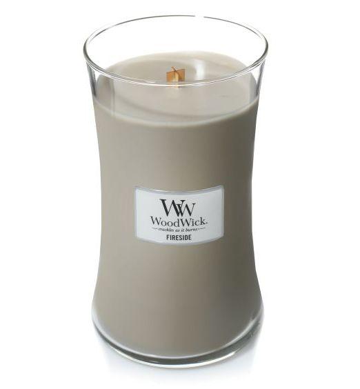 Woodwick giara grande fireside