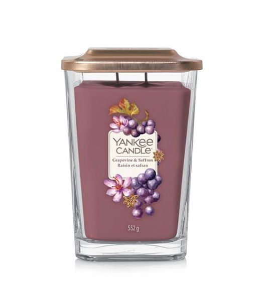 Yankee Candle Elevation Grande grapevine e saffron