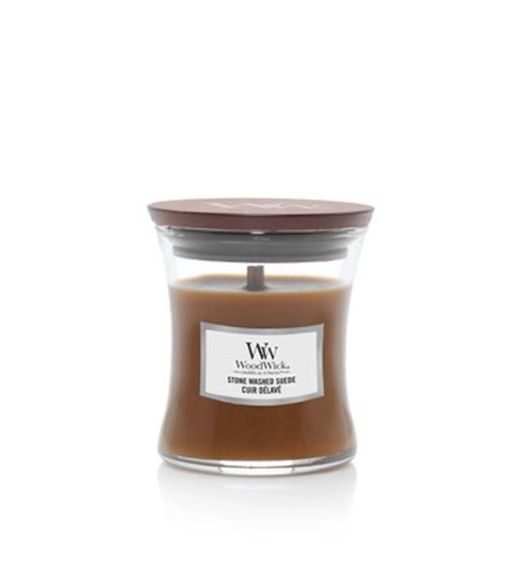 Woodwick Giara piccola stone washed suede