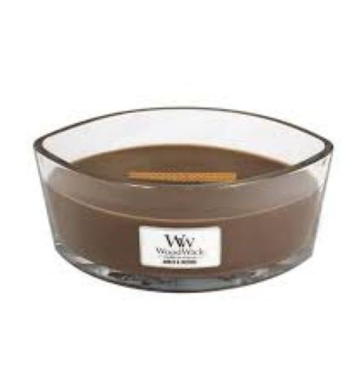Woodwick Ellipse amber e incense