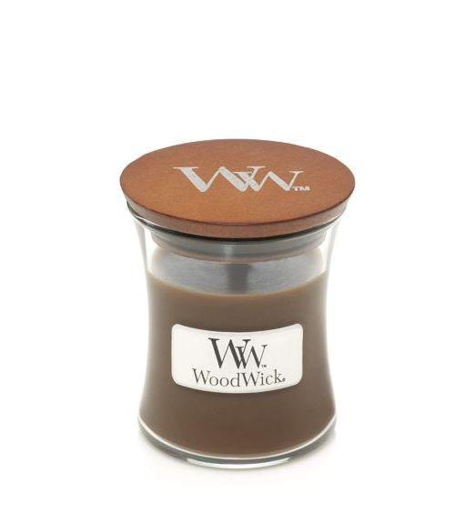 Woodwick Giara piccola amber e incense