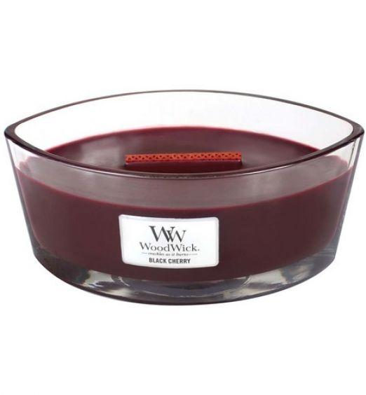 Woodwick Ellipse black cherry