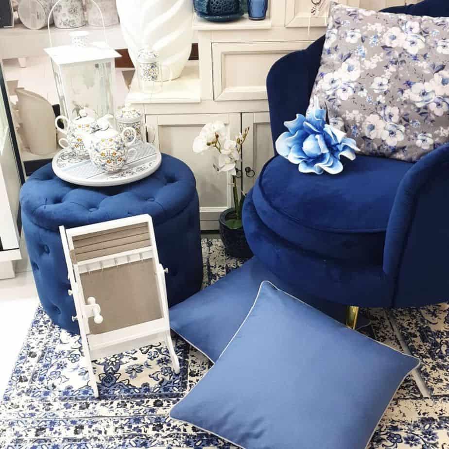 design casa arredmento blu