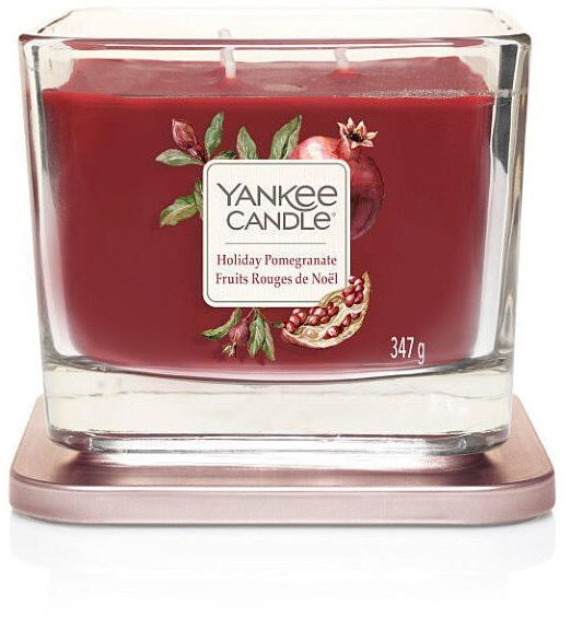 Yankee Candle Elevation media holiday pomegranate