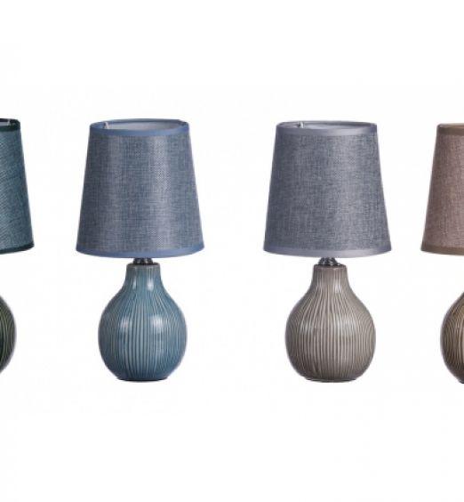 lampada ceramica sferica piccola clare