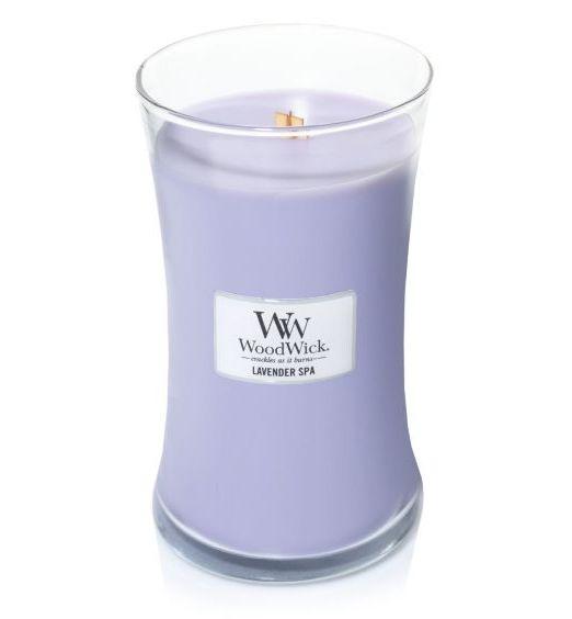 Woodwick giara grande Lavender spa