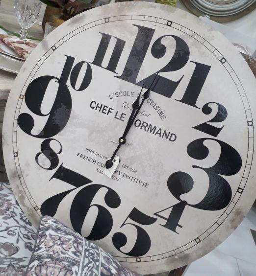 orologio da muro stile industrial francese