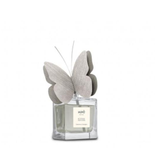Profumatore D'ambiente butterfly Muhà 50ml cotone e vaniglia