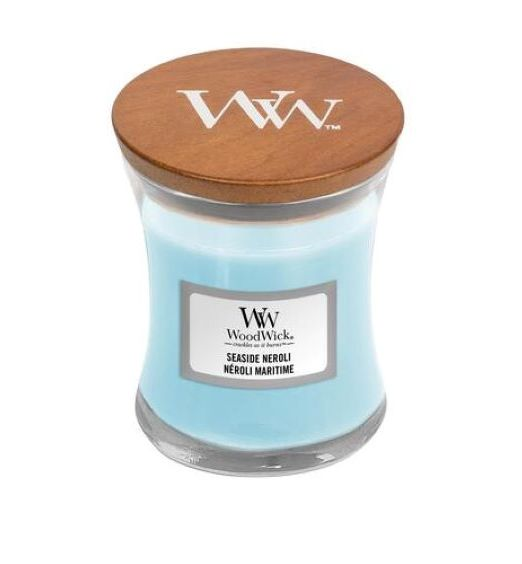 Woodwick Giara Media seaside neroli