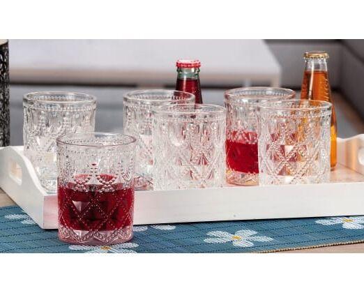 bicchieri vetro acqua yohar
