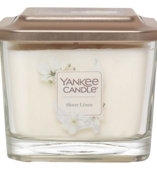 Yankee Candle Elevation media sheer linen
