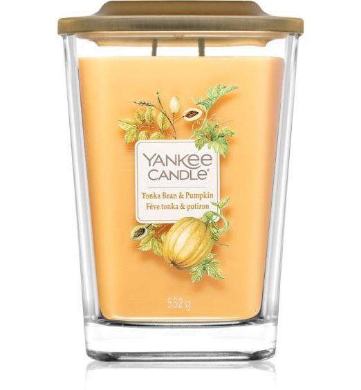 Yankee Candle Elevation Grande Tonka Bean e pumpkin