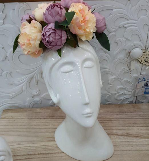 porta fiori vaso porcellana