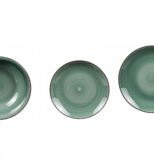 Servizio piatti in ceramica da 18 pezzi
