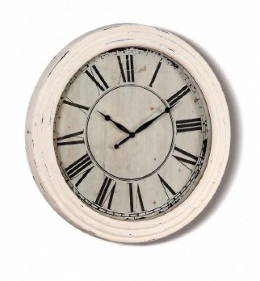 Orologio da parete in ferro stile shabby