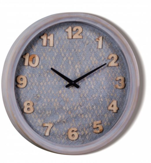 Orologio quadrante in legno da parete