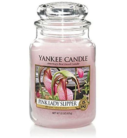 Yankee Candle Giara grande pink lady slipper