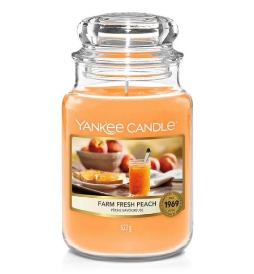 yankee candle Farm Fresh Peach