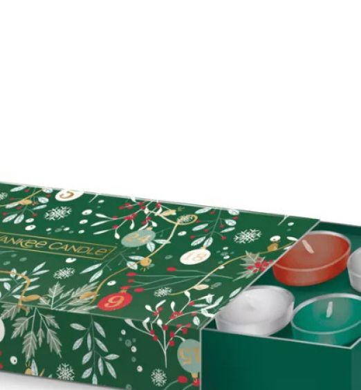 Yankee Candle confezione regalo Con 10 Tea Light E 1 Porta Candela