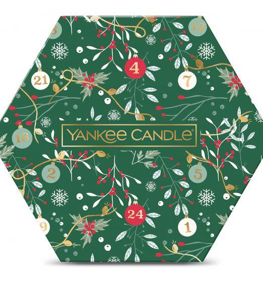 Yankee Candle Confezione regalo 18 tea light e 1 porta candela