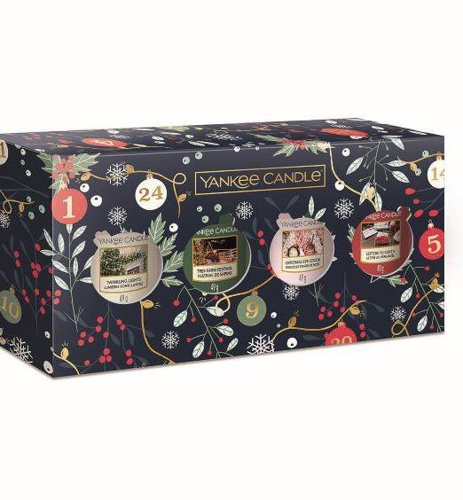 Yankee Candle Confezione regalo con 4 candele sampler